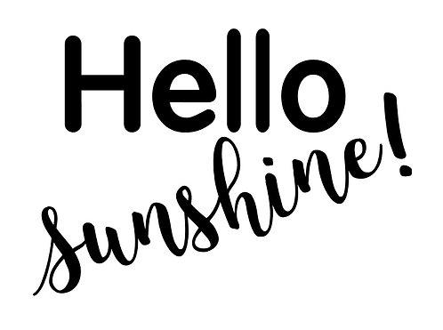 Frame it's  - Hello Sunshine