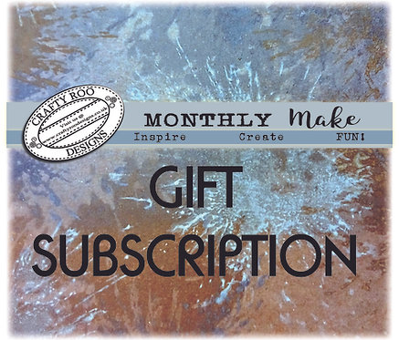 GIFT Monthly Make Subscription