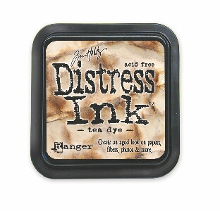 Tea Dye Distress Ink