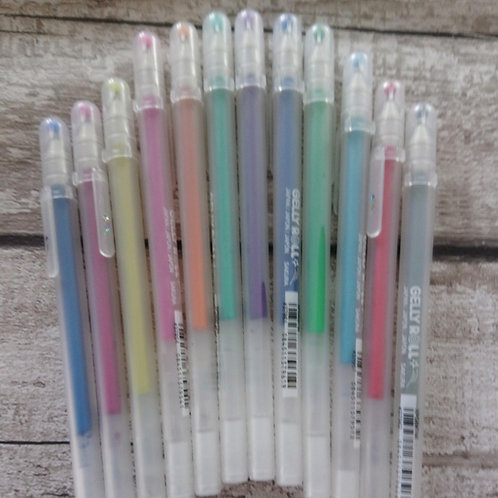 Stardust Gelly Roll Pen -12 to choose from