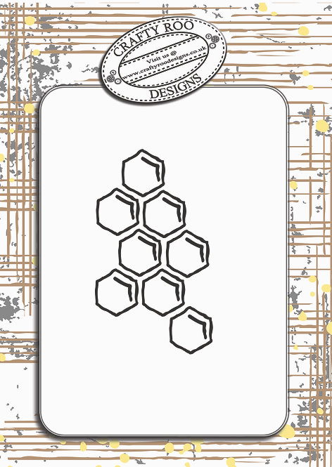TEXTURES - Hexagon Doodles