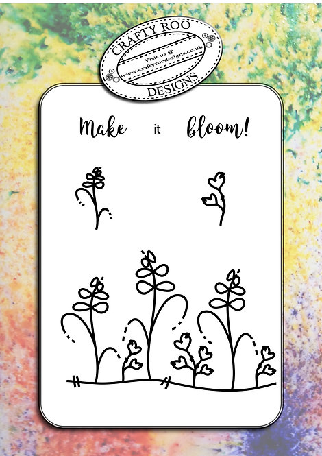 Make it bloom!