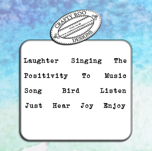 Doodle Words - Bird Song