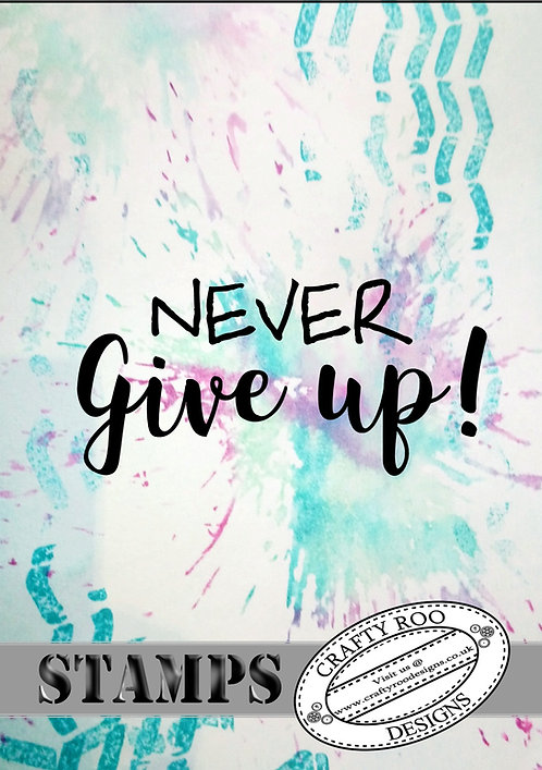 Mini - Never Give up