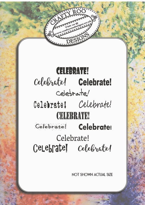 Doodle Word Background - Celebrate