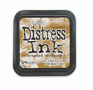 Brushed Corduroy Distress Ink