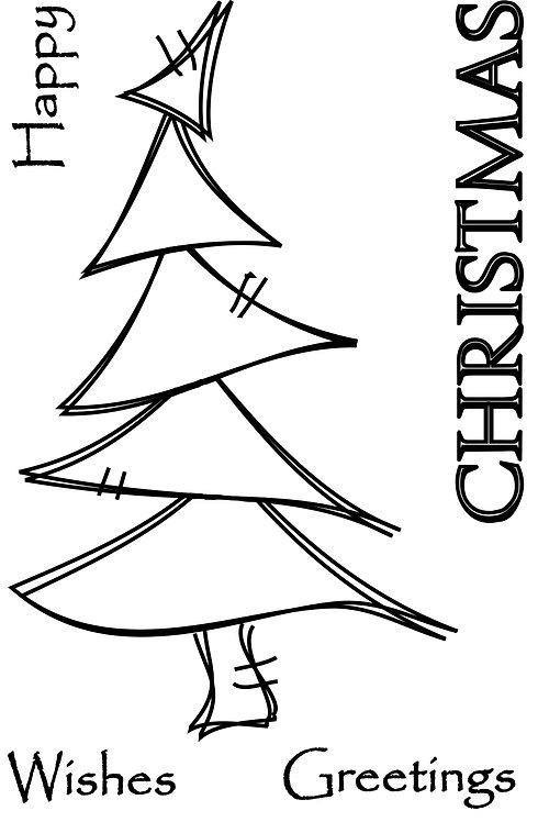 Funky Trees - Christmas