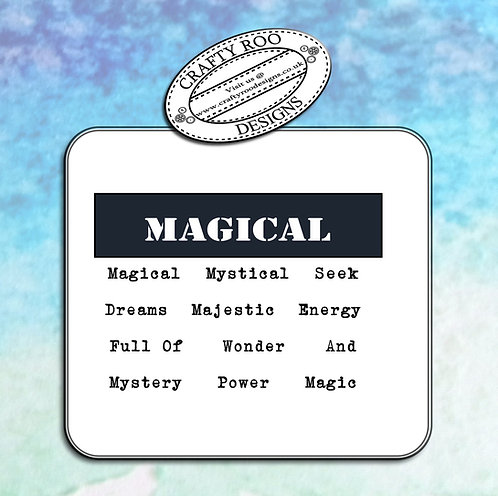 Doodle Words - Magical