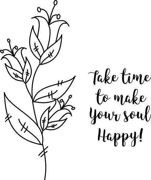 Funky Flower - Happy