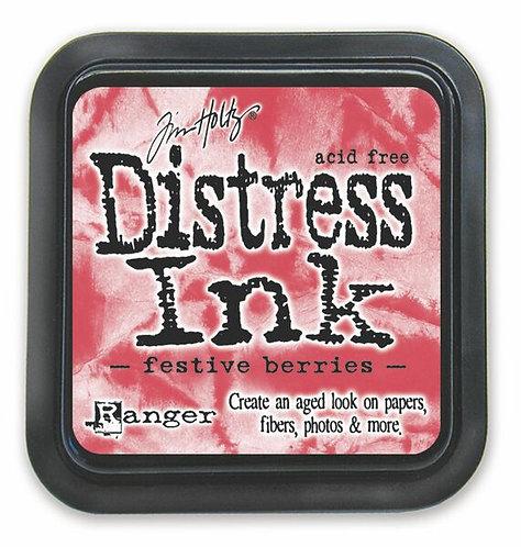Festive Berries Distress Ink