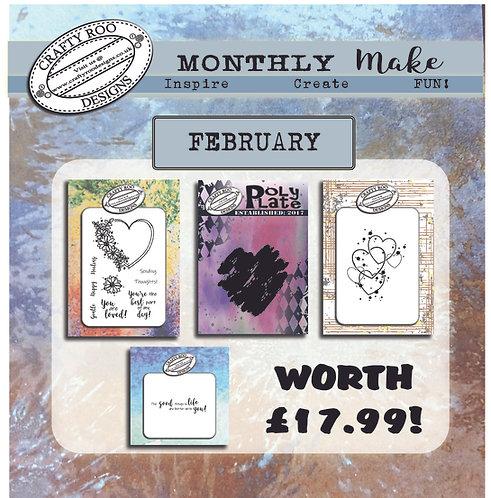 February 2021 Full Stamp Set