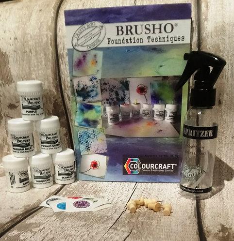 Brusho Foundation Set
