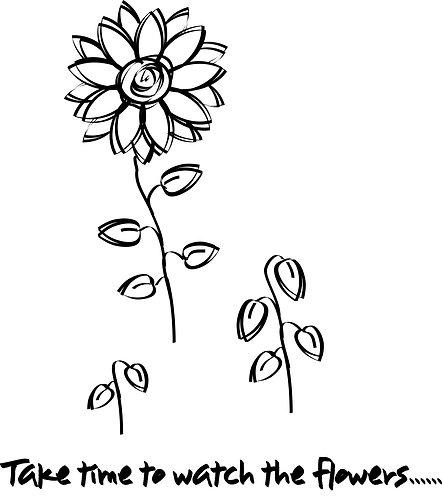 Flowers Grow...