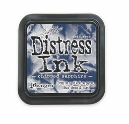 Chipped Sapphire Distress Ink