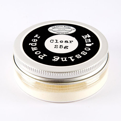 Clear Scented Embossing Powder