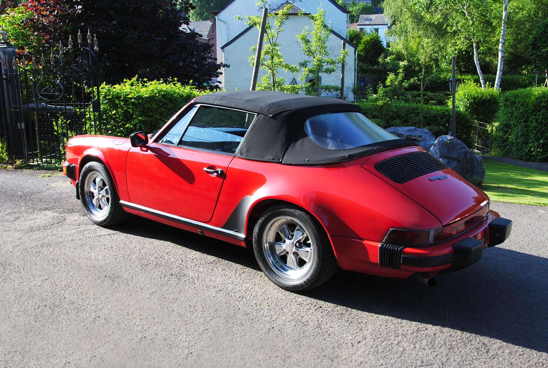 Porsche SC 3.0L Cabriolet de 1983 US