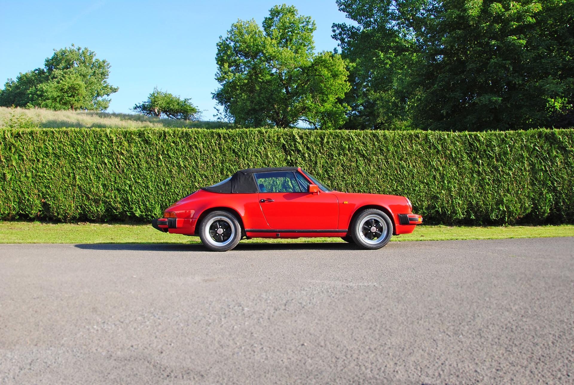 Porsche SC 3.0L Cabriolet de 1983 Eu