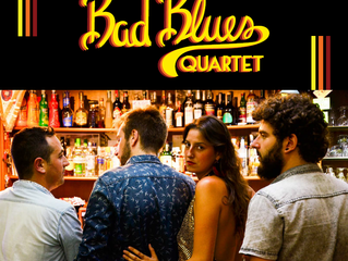 """Bad Blues Quartet"" IS OUT TODAY"