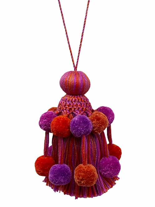 Handmade Pompon Tassel