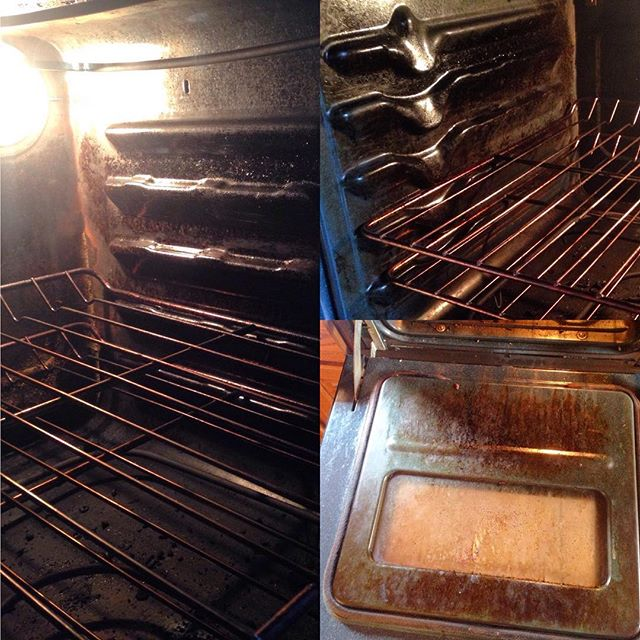 Oven clean in Rollinsville- Before