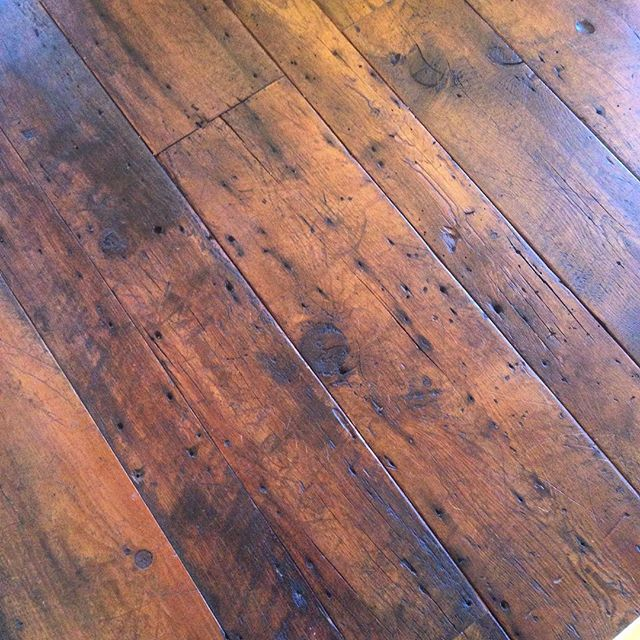 Beautiful hardwood floors at a clients home #rustic #hardwood #colorado
