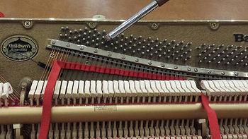 Piano Tuning, Strip muted Piano, Piano Masters, Long Island NY