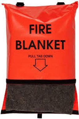 """FIRE BLANKET & CASE 60""""X70"""""""