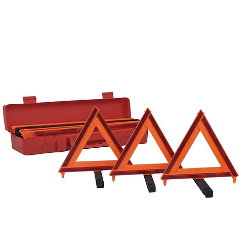 WARNING TRIANGLE SET OF 3