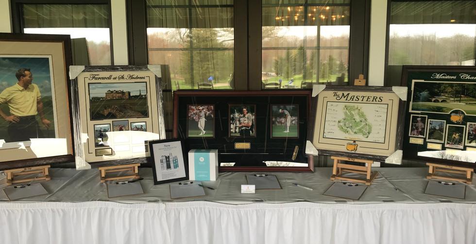 SBS School District Auction Display
