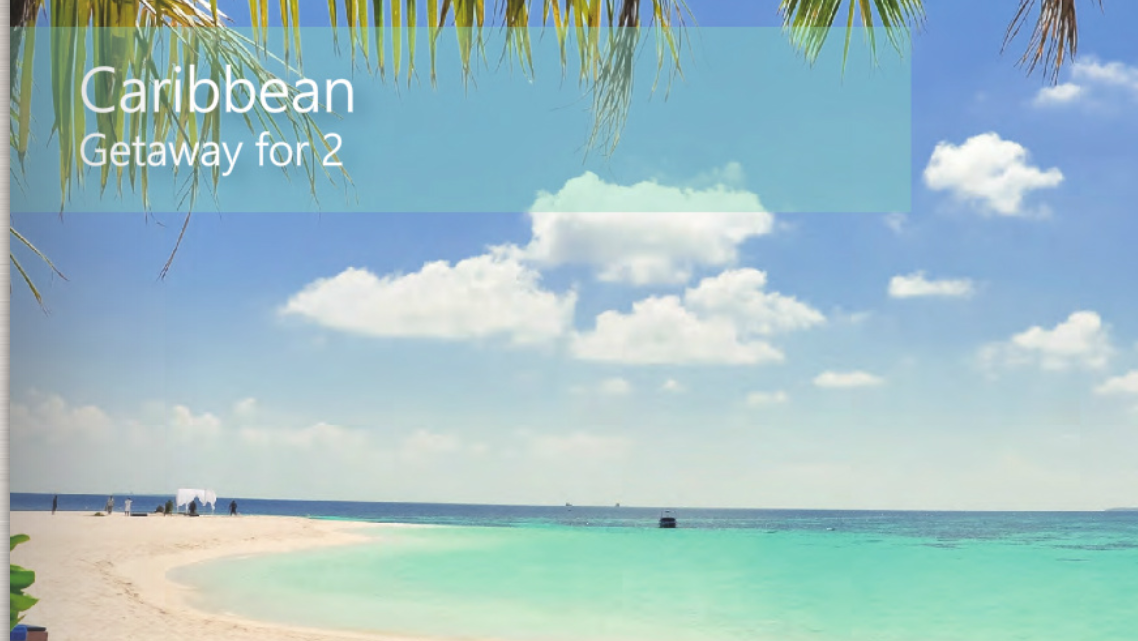 Caribbean Getaway Snapshot