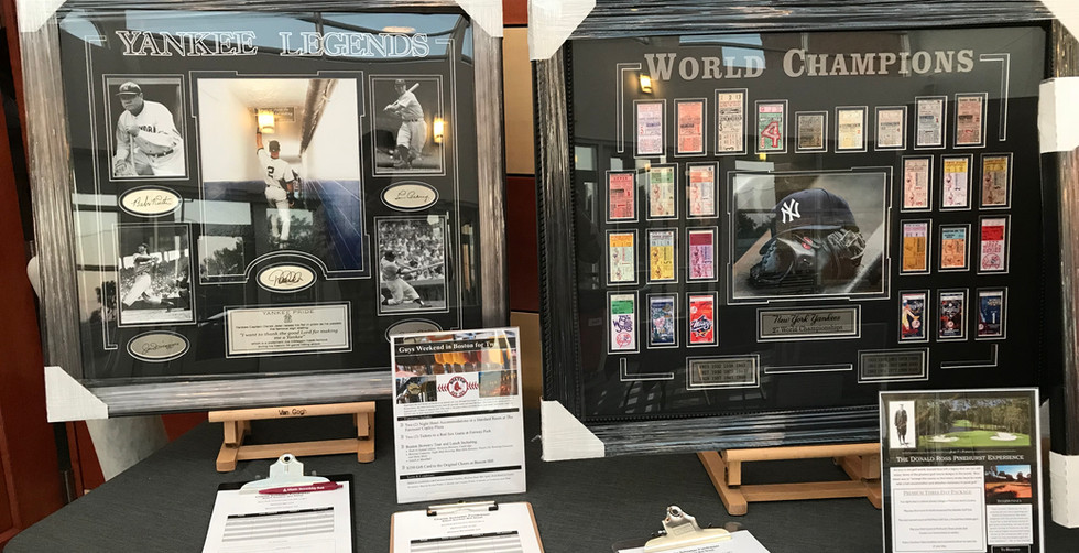 Yankees Pieces & Baseball Experiences
