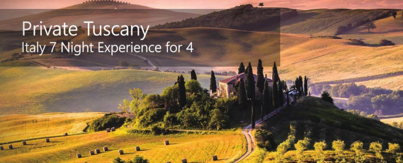 Tuscany Italy Snapshot