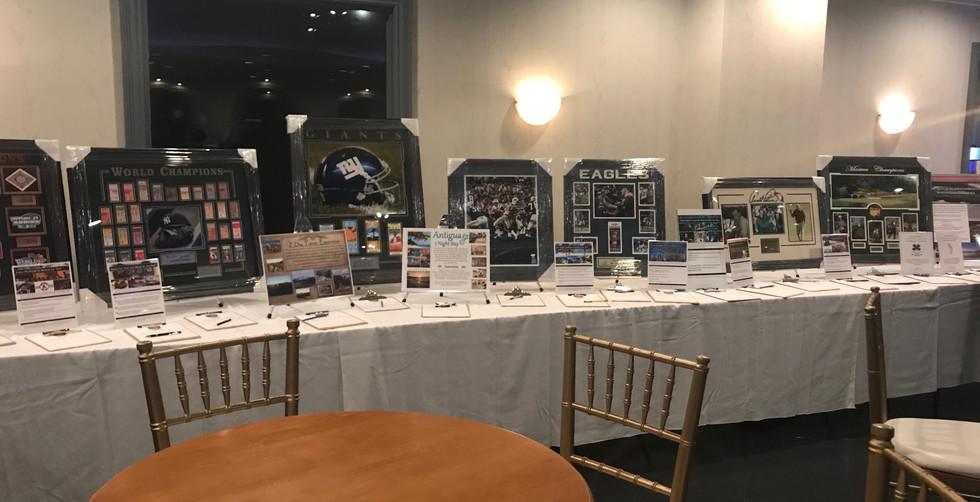 Fairfield Police Foundation Auction Table