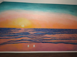 Ocean Sunset- completed