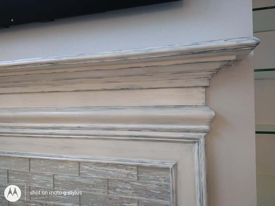 Completed- fireplace detail