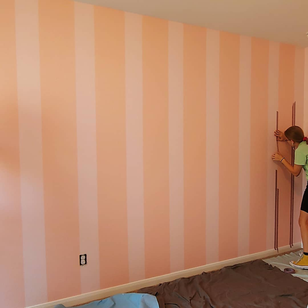 Nursery- after 2nd color striping