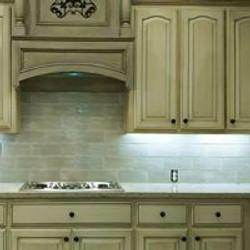 Cabinets & backsplash completed