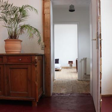 Durchgang zum Gästezimmer