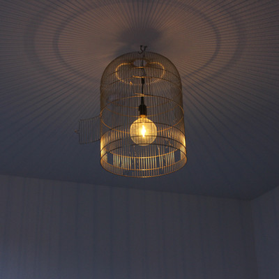 Licht im Gästewohnzimmer