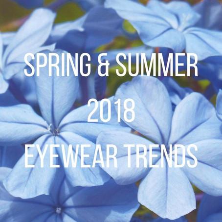 Spring & Summer 2018 Eyewear Trends