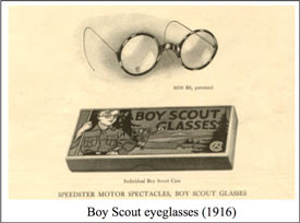 Boy Scouts & American Optical Ad