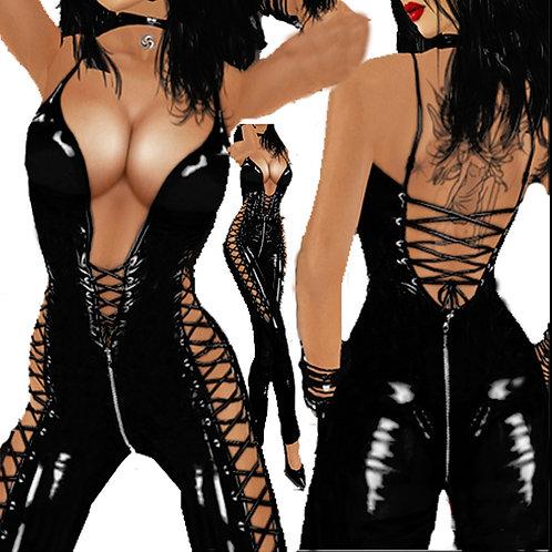 Body combinaison latex