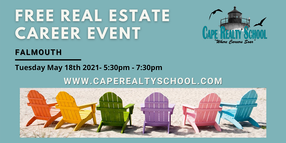 (FREE) Real Estate Career Event - May 18th