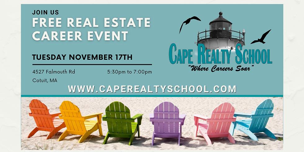 Real Estate Career Event - 11/17/2020
