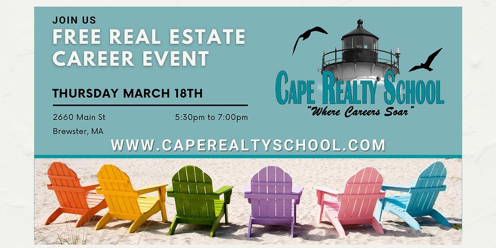 Real Estate Career Event - 3/18/2021