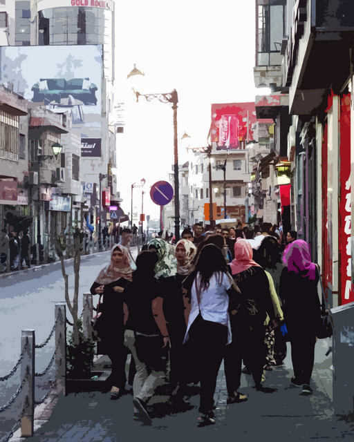 Rukab Street Ramallah