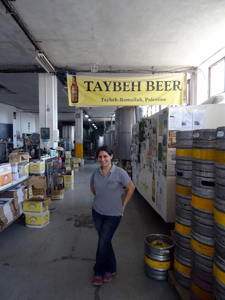 The Middle East's only female brewer