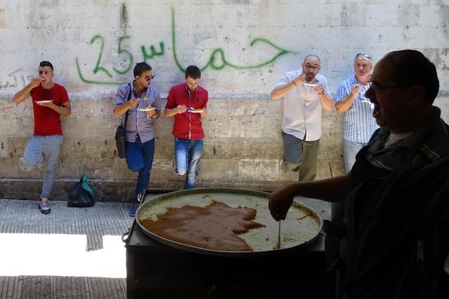 Al-Aqsa cafe in Nablus
