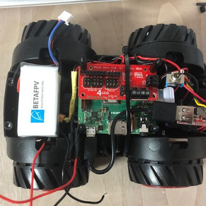 Raspberry PI 3A+ Powered Car