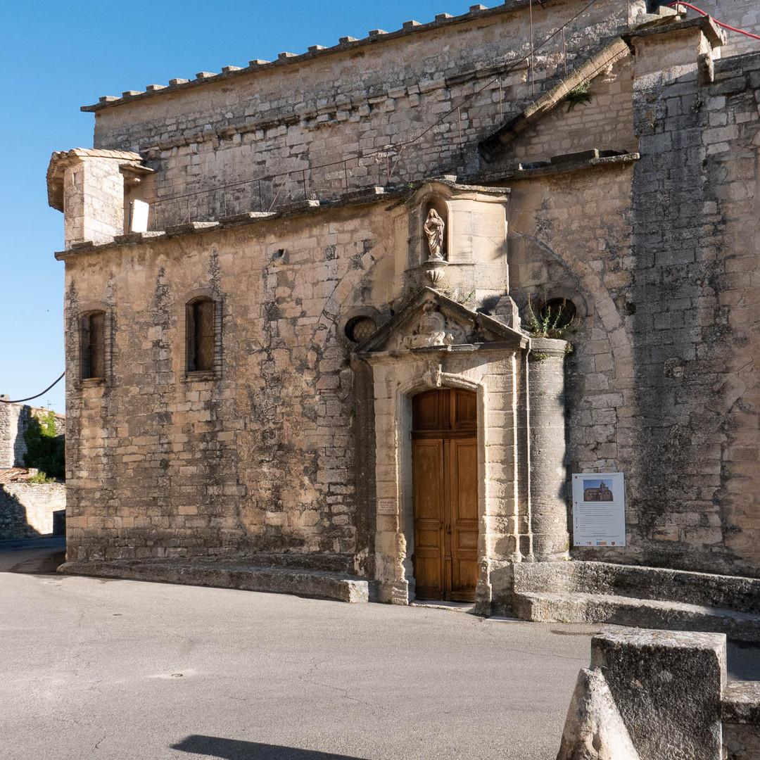 Venasque, Place de l'Eglise